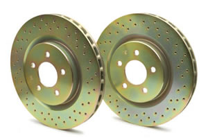 Brembo Drilled Front Brake Discs
