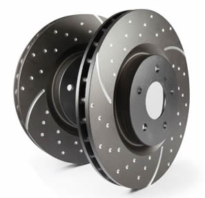 EBC Turbo Grooved Rear Brake Discs