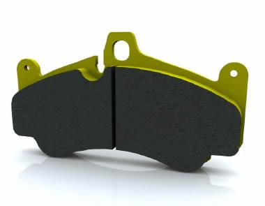 Pagid RSL 2-9 Race Rear Brake Pads